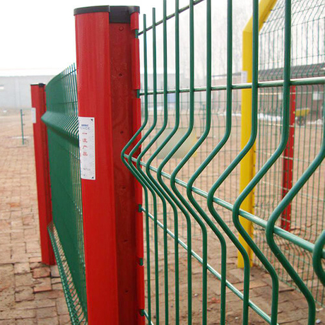 3D Curved Wire Mesh Fence