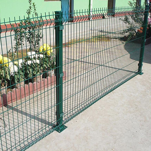 3D Curved Wire Mesh Fence2